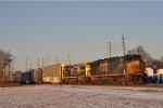 CSXT 5444 On CSX Q 241 Eastbound ( Last Light )