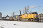 UP 7515 On CSX K 943 Eastbound