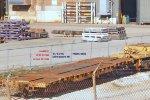 60' 6-axle heavy duty flat has load limit of 301,200 #