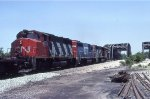 CN 9501, GTW 6401, and CN 9401