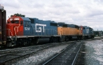 GTW 5707, CSS 2004, and GTW 5829 on #371