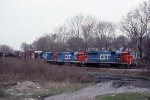 GTW 6410, 6202, and 5822 on #395