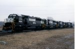 New Norfolk Southern SD60s