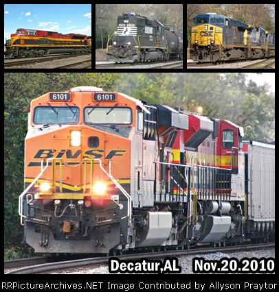 Collage of Trains