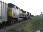 WB coal train on its way to Plant Bowen