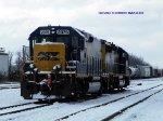 CSXT 2379/6979 GP40-2/Road Slug set waits for assignment