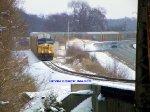 CSX Q235 approaches the Barren River Bridge