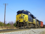 CSX Q275 south takes their pick-up to the Main