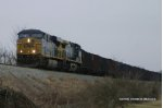 CSX loaded coal train T205
