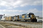 CSX 2379/6979 take J768 north to Magna to work