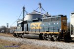 CSX Y110 is southbound out of Memphis Jct. Yard