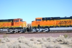 BNSF 6649 roll east as a #3 unit on a eastbound Z-Train in this side shot.