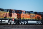 BNSF 6649 A Very Brand New ES44C4 rolls eastbound as the #3 unit on a eastbound Z.