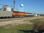 BNSF 6000 and 9729