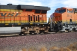 BNSF 6648 close up shot as she goes by me.