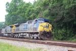 CSX 13 & CSX 225 (N100) heading south