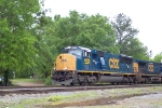 CSX 4816 (Q124) heading north