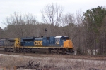 CSX 4841 (N100) heading south