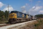 CSX 564 (Q669) heading south