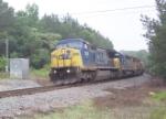 CSX 7696 (Q647) heading south