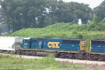 CSX 8727 heading south (near King Plow)