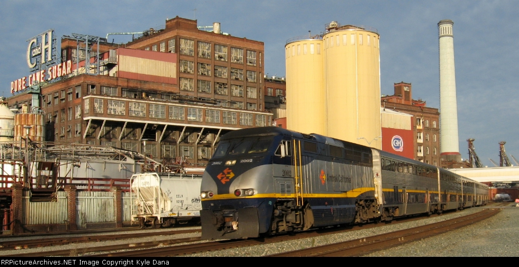 CDTX 2002 on Amtrak 713