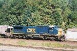 CSX C40-8W 7325