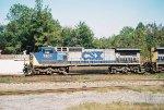 CSX C40-8 7804