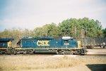 CSX SD40-2 8136