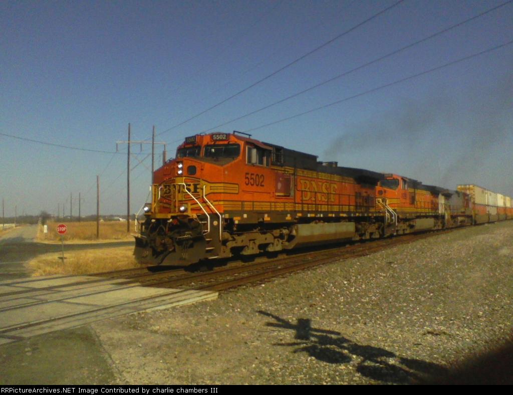 BNSF 5502  Z-WSPALT