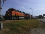 BNSF 7283 special on FWWR forest park blvd