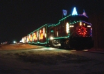 CP 9615 and the CP holiday Train