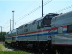 amtrak 40th anniversary train