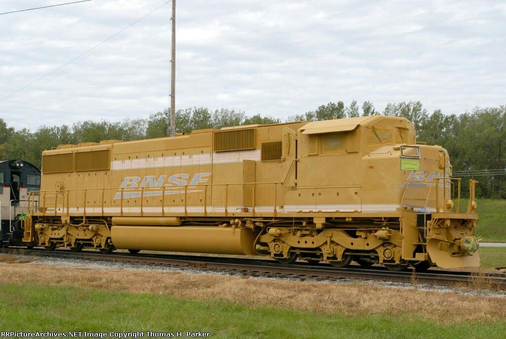 BNSF 9206 SD60M
