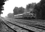 Metro-North inspection train passing NS yard