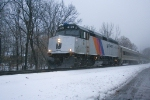 NJT 4121 arrving at CP BC