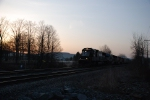NS 12T in the early morning hours