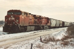 Westbound manifest on home rails near University
