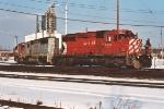 Eastbound manifest exits home rails