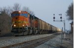 Wow! BNSF SD75's on K803