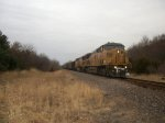UP 6823 eastbound UP loaded coal train