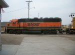BNSF 3116 northbound BNSF local train