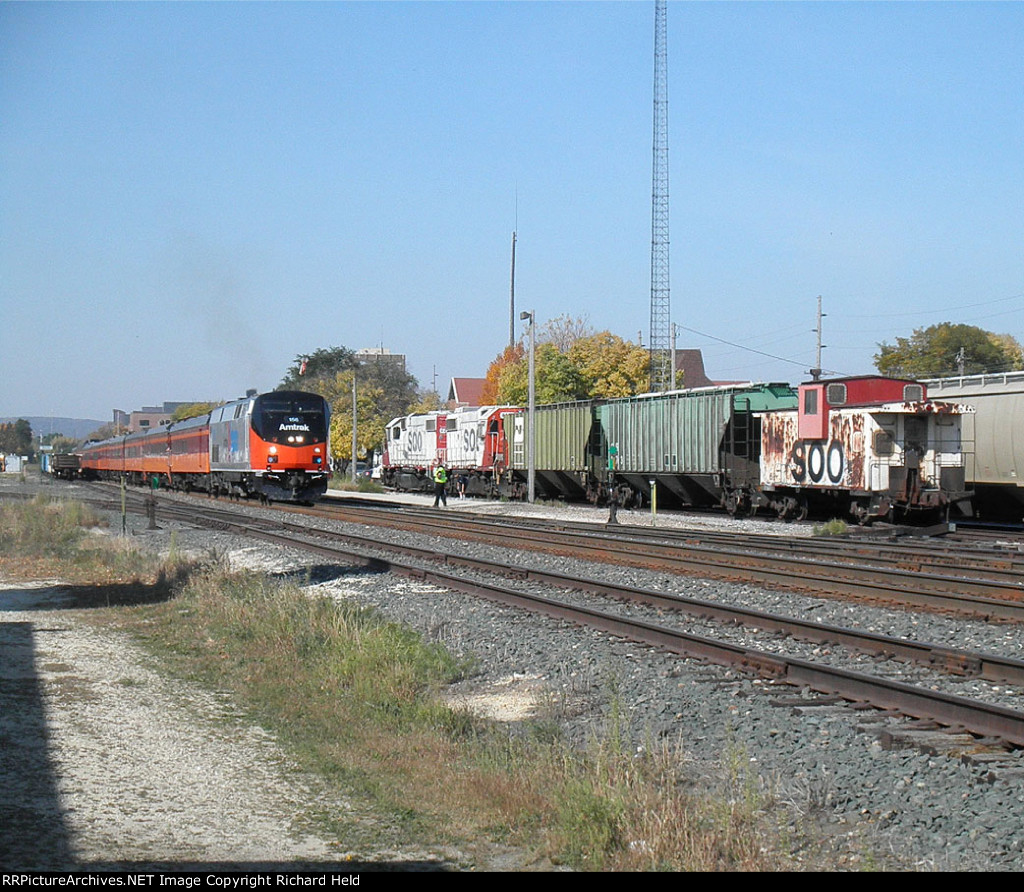Amtrak Soo And Milwaukee
