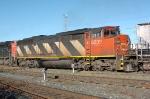 CN SD60F in Walker Yard