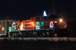 CP 9815 with the holiday train