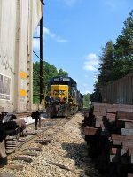 CSX 6085  Switcher for the Doghouse Yard
