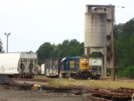 CSX 2642 and Coaling tower