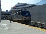 EB California Zephyr at Reno Station - Looking WB