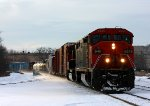 CN 2445 leads the first eastbound for over 10 hours