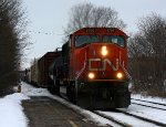 CN 5706 heads east with L501